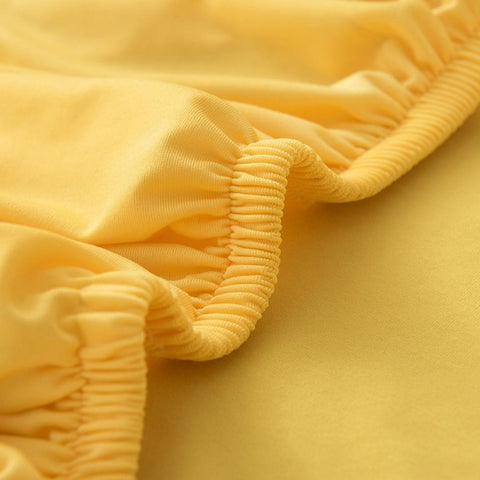Sofa Cover -  Yellow