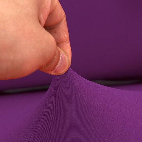Sofa Cover -  Purple