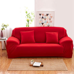 Sofa Cover -  Red