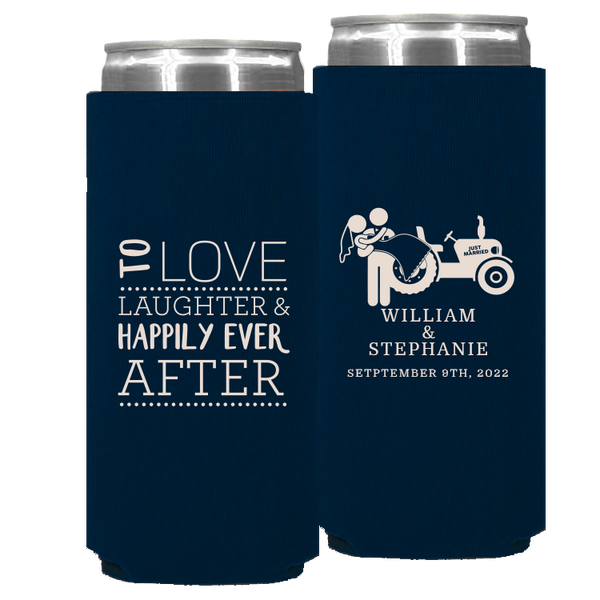 Wedding - Foam Slim Cans