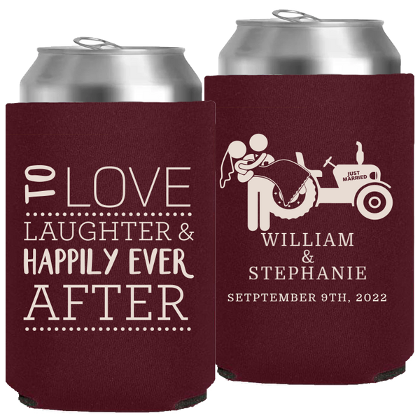 Wedding - Neoprene Cans