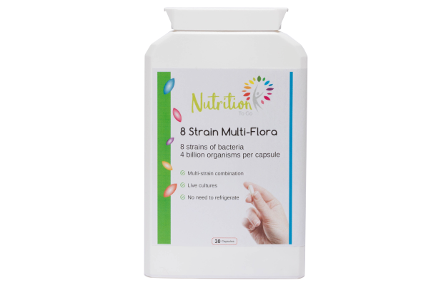 Nutrition To Go 8 Strain Multi flora Probiotic