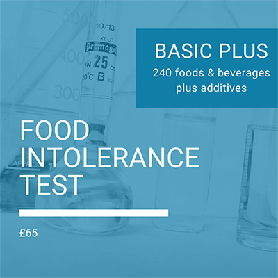 Basic Plus Food Intolerance Test by Nutrition To Go, Food sensitivity