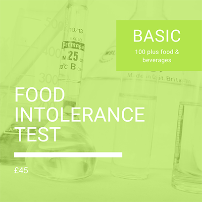 Basic Food Intolerance Test by Nutrition To Go, Food sensitivity
