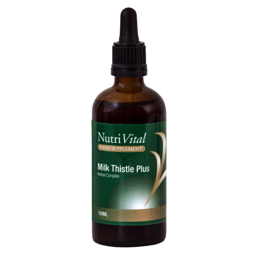 Nutrivital Mil Thistle Plus, herbal health supplement