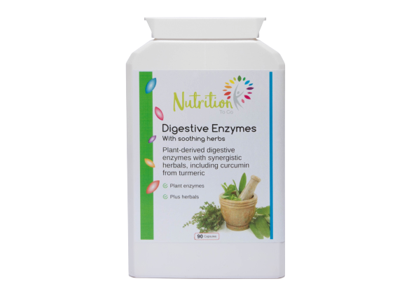 Digestive enzymes by Nutrition To Go to aid digestion