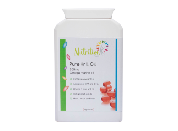 Nutrition To Go Pure Krill Oil, health supplement