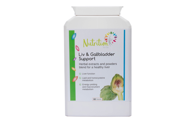 Liver and Gallbladder Support, health supplement