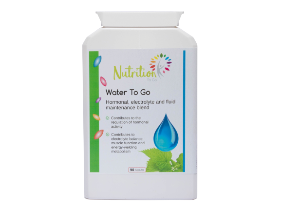 Nutrition To Go Water To Go health supplement for the bodies water balance
