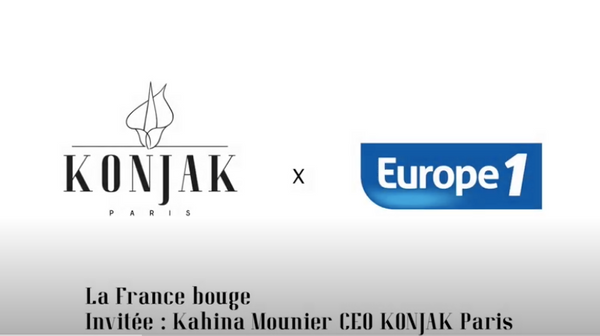 Vidéo Konjak Paris x Europe 1 : interview de Kahina