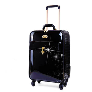 Underseat travel luggage bag with spinners | WeUman Stores