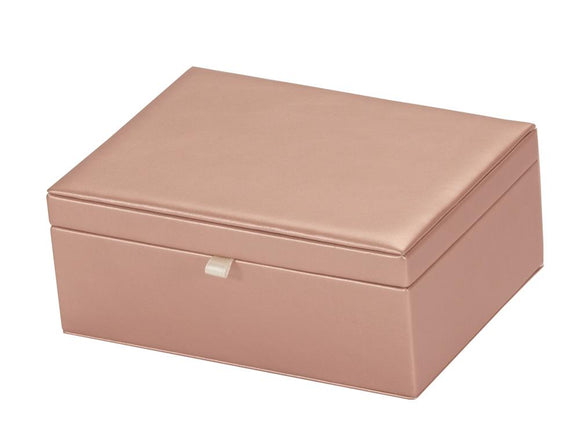 Rose Gold Jewellery Box.