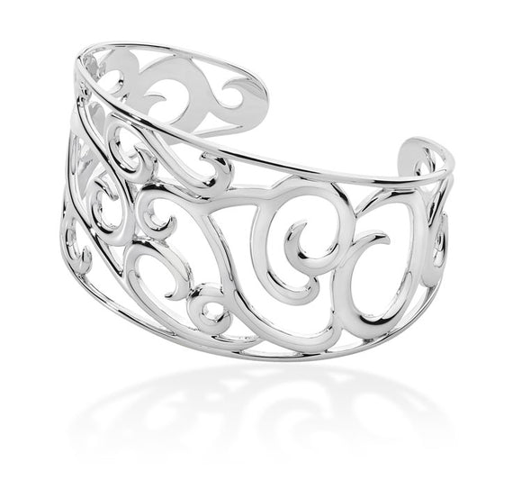 Silver Element Air Bangle