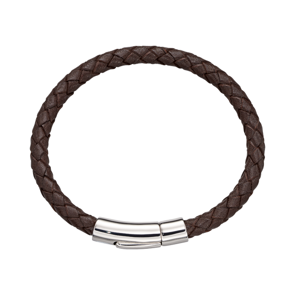 Charlie – Boys Brown Leather Bracelet.