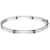 Silver Engraved My Sun, My Moon and all the Stars Bangle.