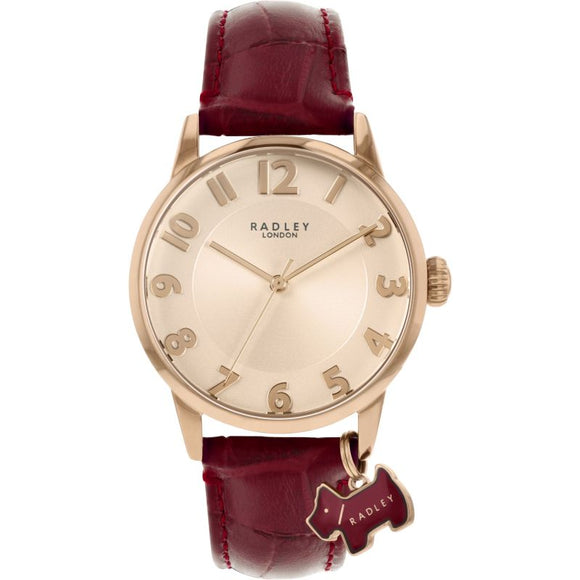 Radley Rose Gold Full Figure Watch