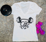 """Limited Edition"" GOAL GETTER BGM Ladies Jersey Short-Sleeve Deep V-Neck T-Shirt"