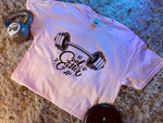 """Limited Edition"" GOAL GETTER Big Girlz Move with Ted Pink Tee"