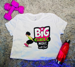 BGM Ladies Flowy Cropped Tee