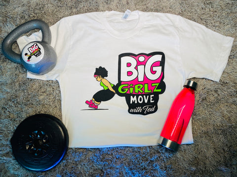 KIDS Big Girlz Move with Ted White Tee