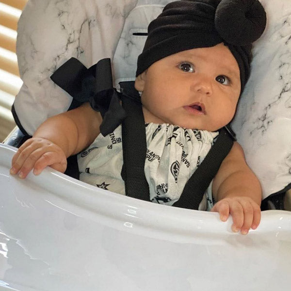Your Babiie Nicole Snooki Polizzi Marble High Chair