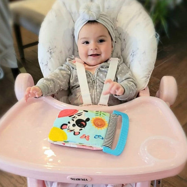 Your Babiie Nicole Snooki Polizzi Rose Gold Marble High Chair