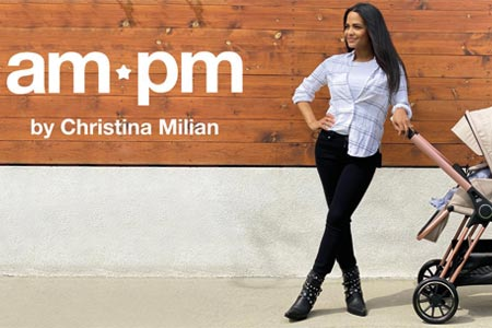 am:pm baby gear designed by Christina Milian