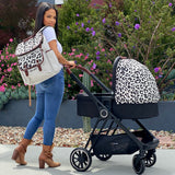 "AM:PM by Christina Milian - Leopard ""Victoria"" Bassinet"
