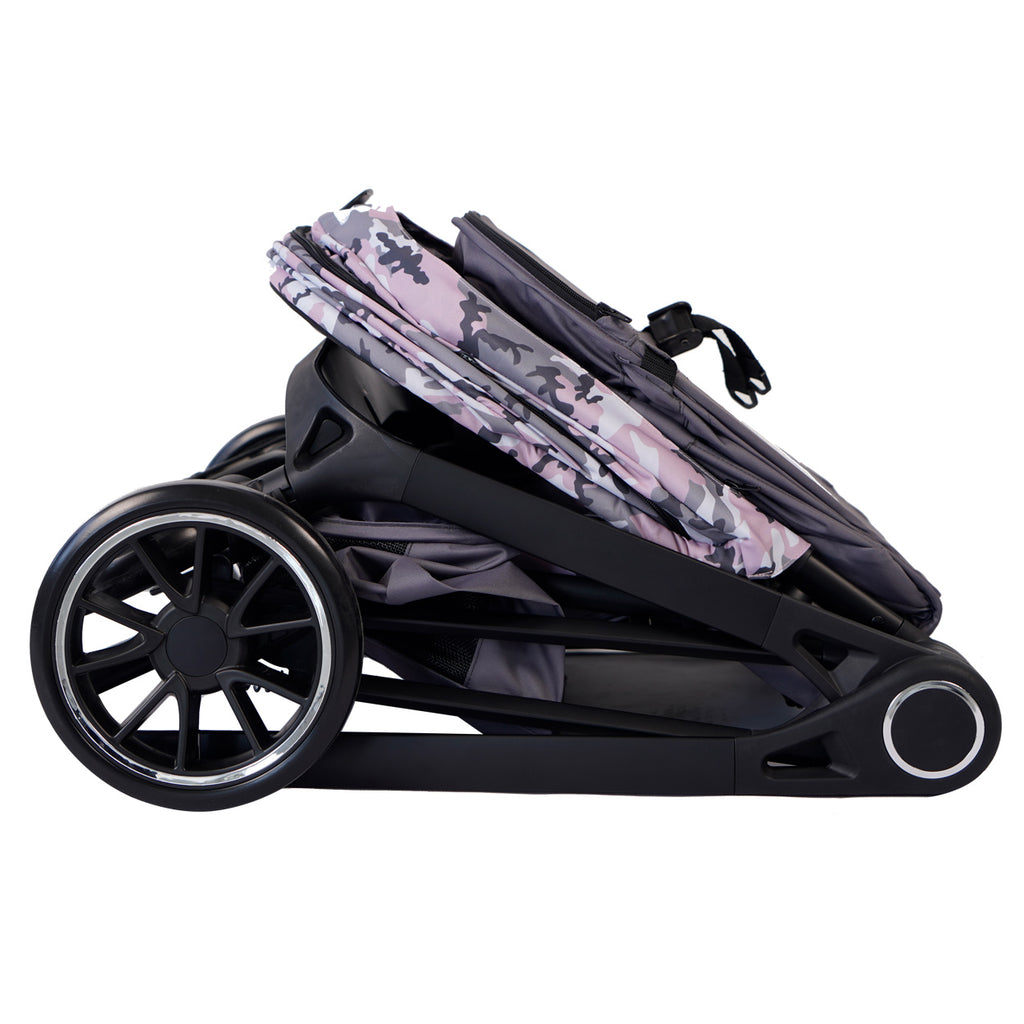 "MAWMA by Snooki - Pink Camo ""Victoria"" Stroller"