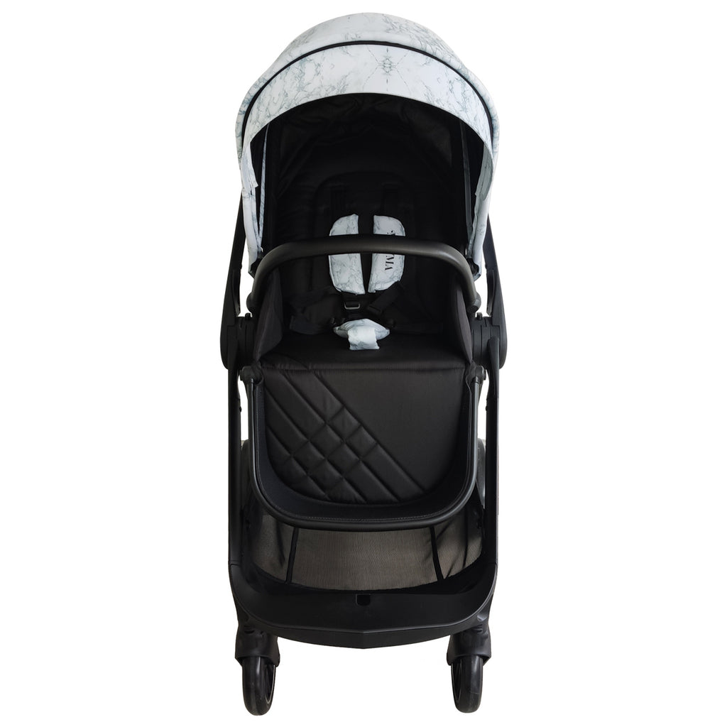 "MAWMA by Snooki - Marble ""Victoria"" Stroller & Bassinet"