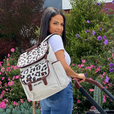 AM:PM by Christina Milian - Leopard Diaper Bag