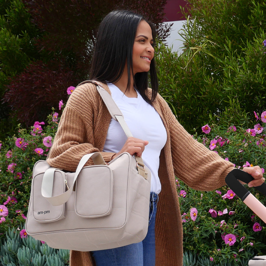 AM:PM by Christina Milian - Nude Diaper Bag