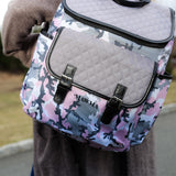 MAWMA by Nicole 'Snooki' Polizzi - Blush Camo Diaper Bag