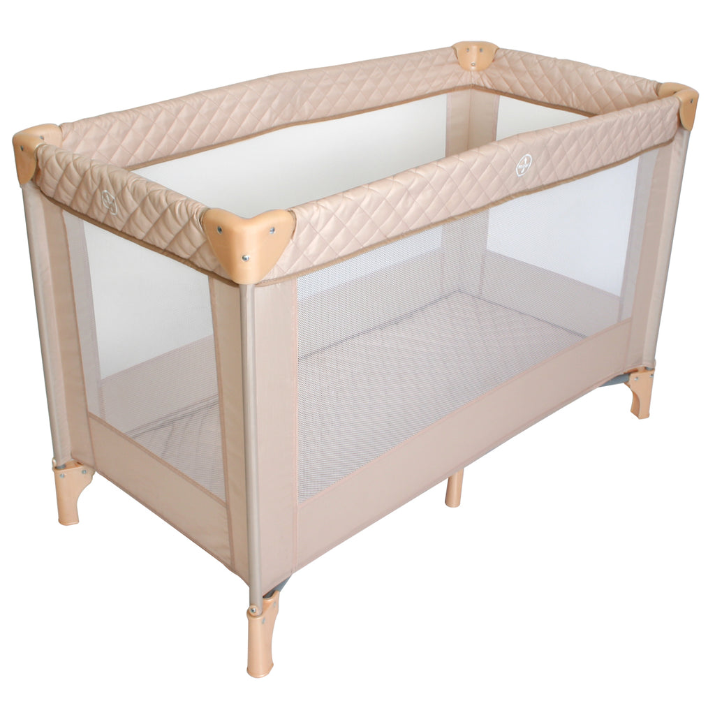 "Blush Quilted ""Bloomsbury"" Playard / Travel Bed"