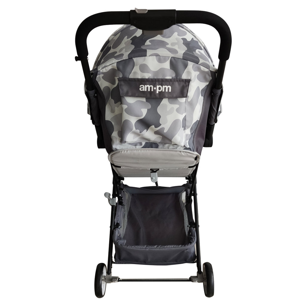 "AM to PM by Christina Milian - Grey Camo ""Soho"" Travel Stroller"