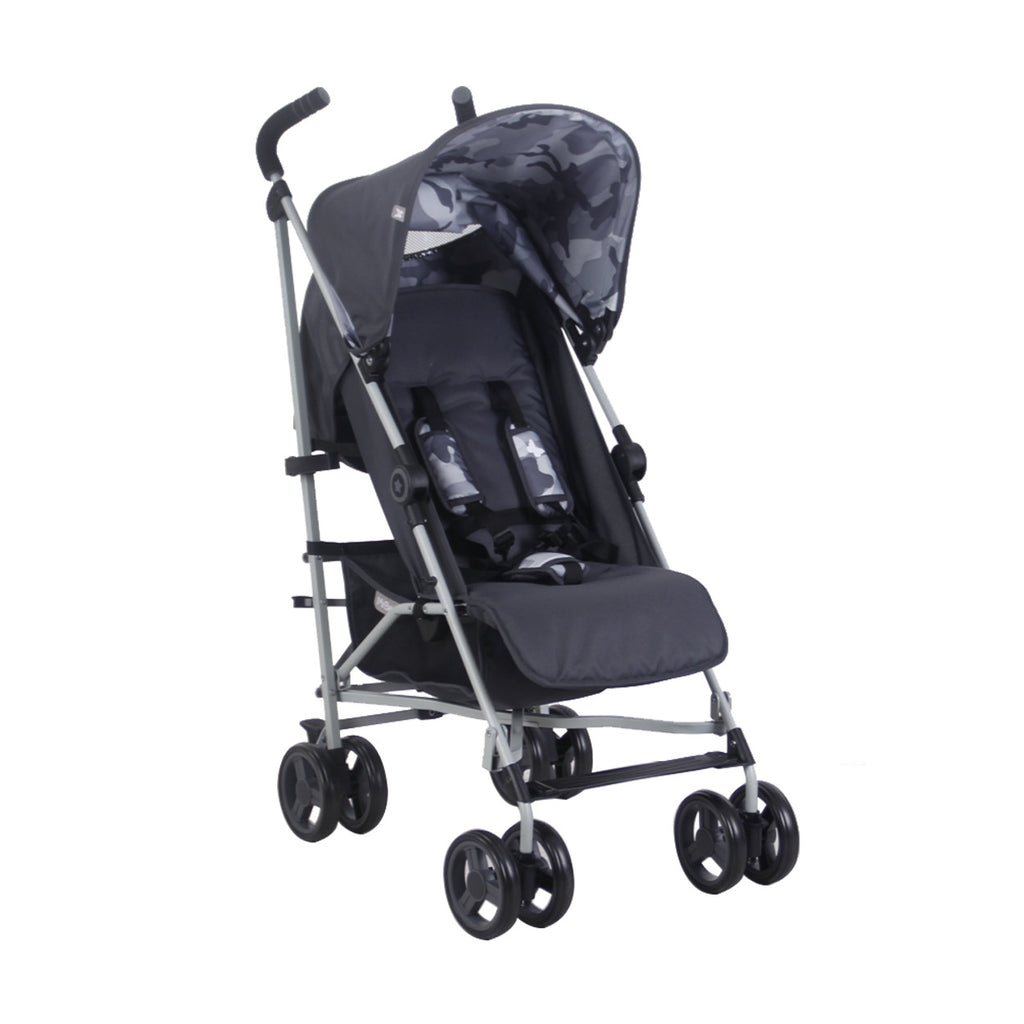 "US02 Grey Camo ""Richmond"" Lightweight Stroller"