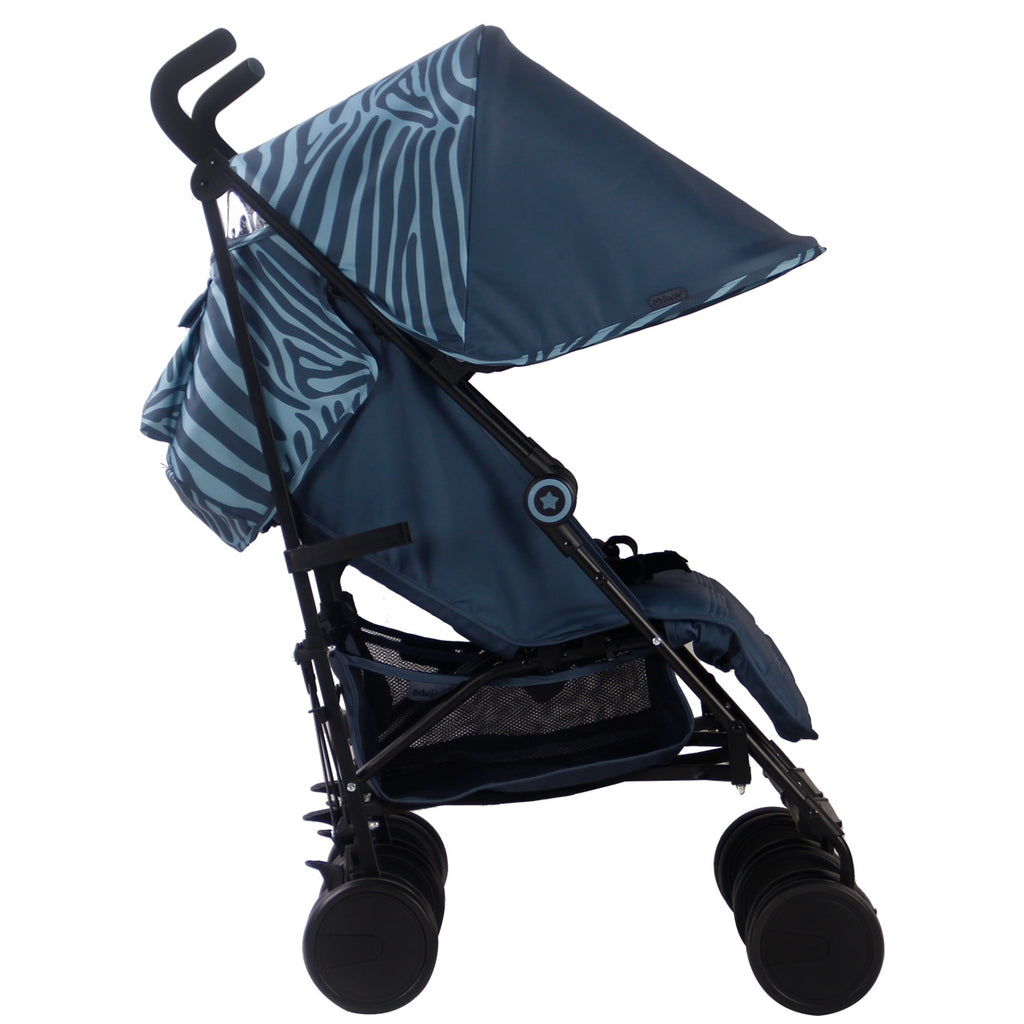 "AM:PM by Christina Milian - Tiger ""Chelsea"" Double Stroller"