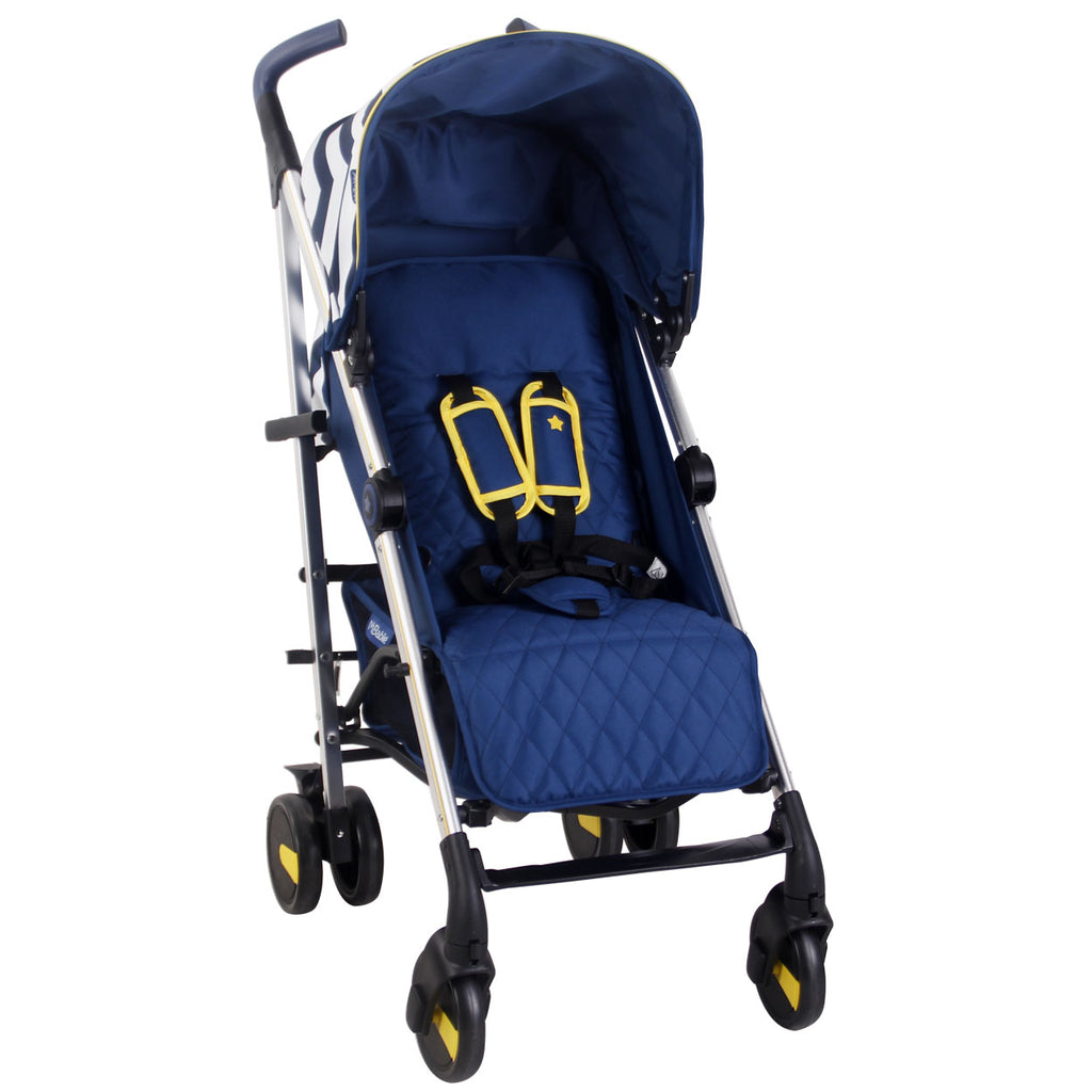 US51 Blue Chevron Lightweight Stroller