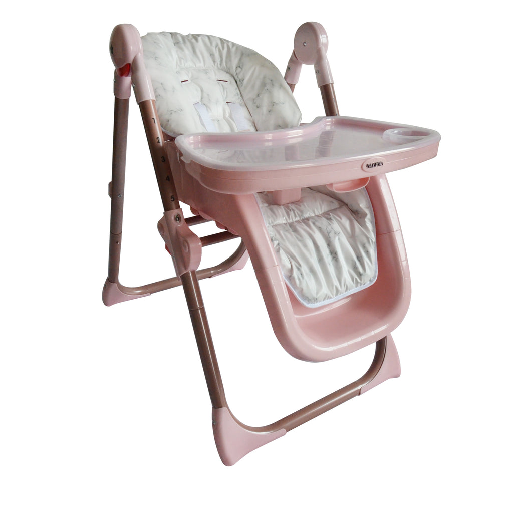 "MAWMA by Nicole ""Snooki"" Polizzi - Rose Gold Marble ""Fitzrovia"" High Chair"