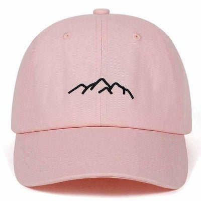 CASQUETTE MOUNTAIN - ROSE