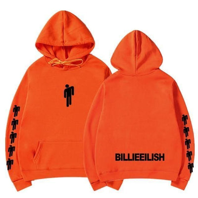 Hoodie BILLIE EILISH™ - Orange 2 / S