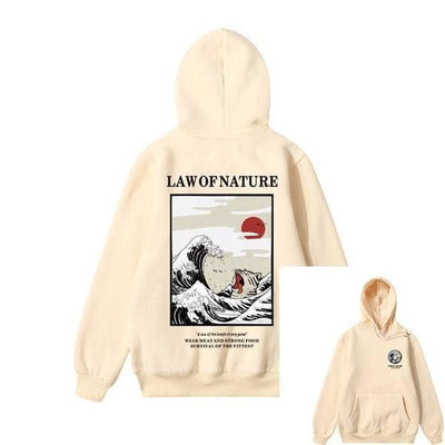 Hoodie LAW OF NATURE™ - Beige 2 / S