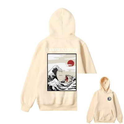 Hoodie LAW OF NATURE™ - Beige / S