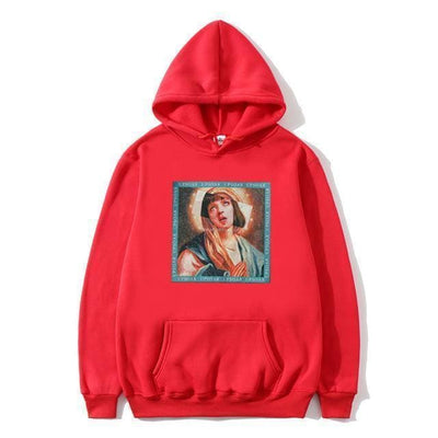 Hoodie PULP FICTION x VIERGE MARIE™ - Rouge / S