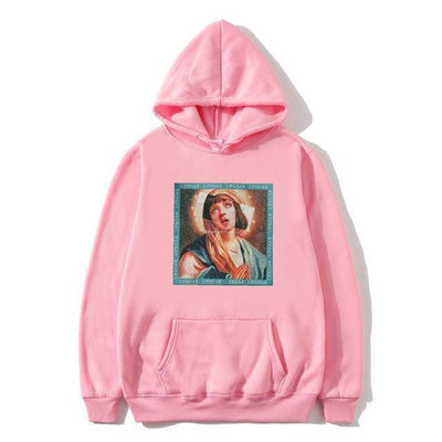 Hoodie PULP FICTION x VIERGE MARIE™ - Rose / S