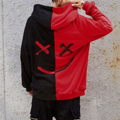 HOODIES SMILEY™ - Rouge / L