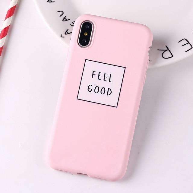 Coque Feel good Rose iPhone
