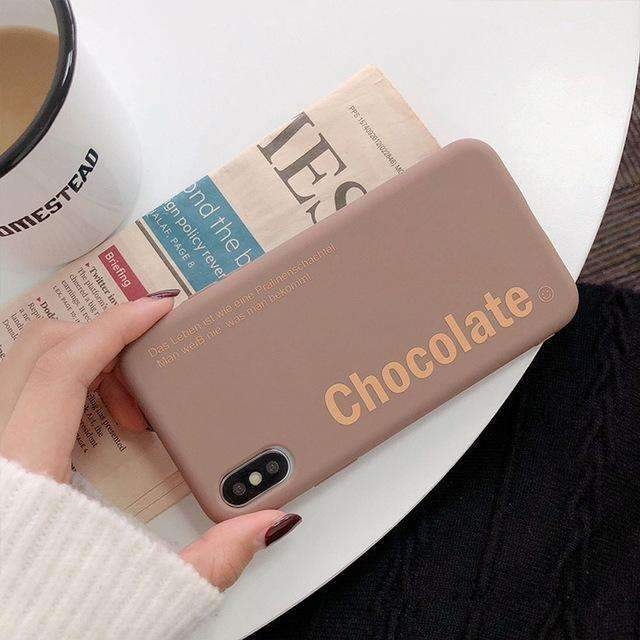 Coque Chocolate iPhone