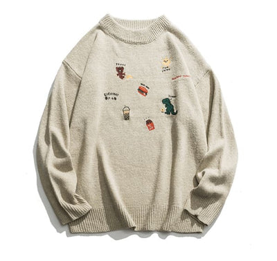 SWEAT ICON - BEIGE / M