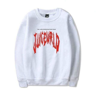 SWEAT JUICE WORLD - BLANC / XS